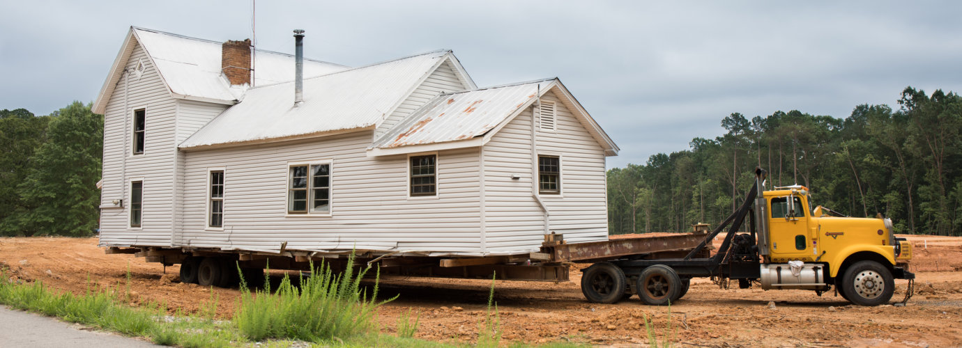 house building construction site, foundation and concrete pouring