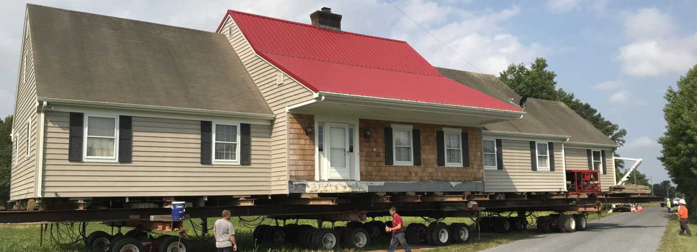 whole house being moved